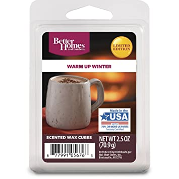 good looking better homes gardens. Better Homes and Gardens Warm Up Winter Wax Cubes Amazon com