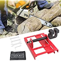 InLoveArts Mini motorsågkvarn, virkskärning, motorsågar kvarn timmer styrskena för byggnadsarbetare träarbetare…