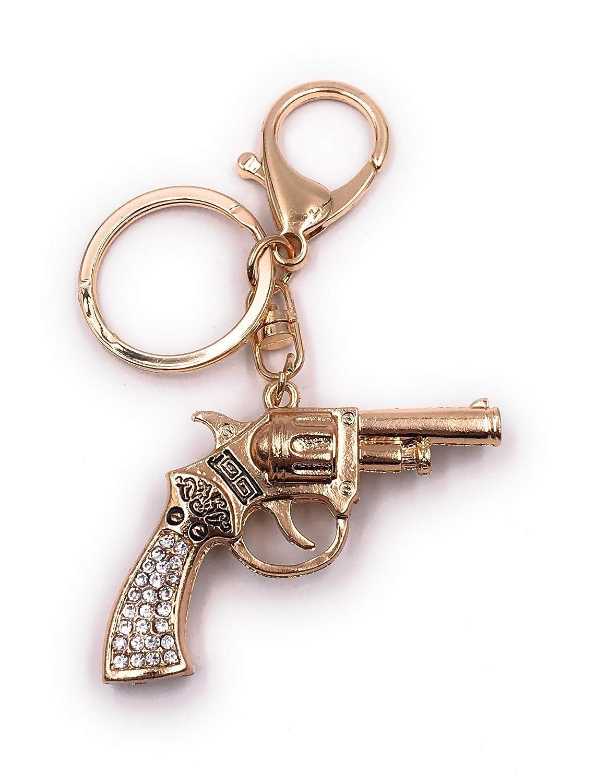 Onlineworld2013 Llavero Pistola Glitter Rhinestone Arma ...