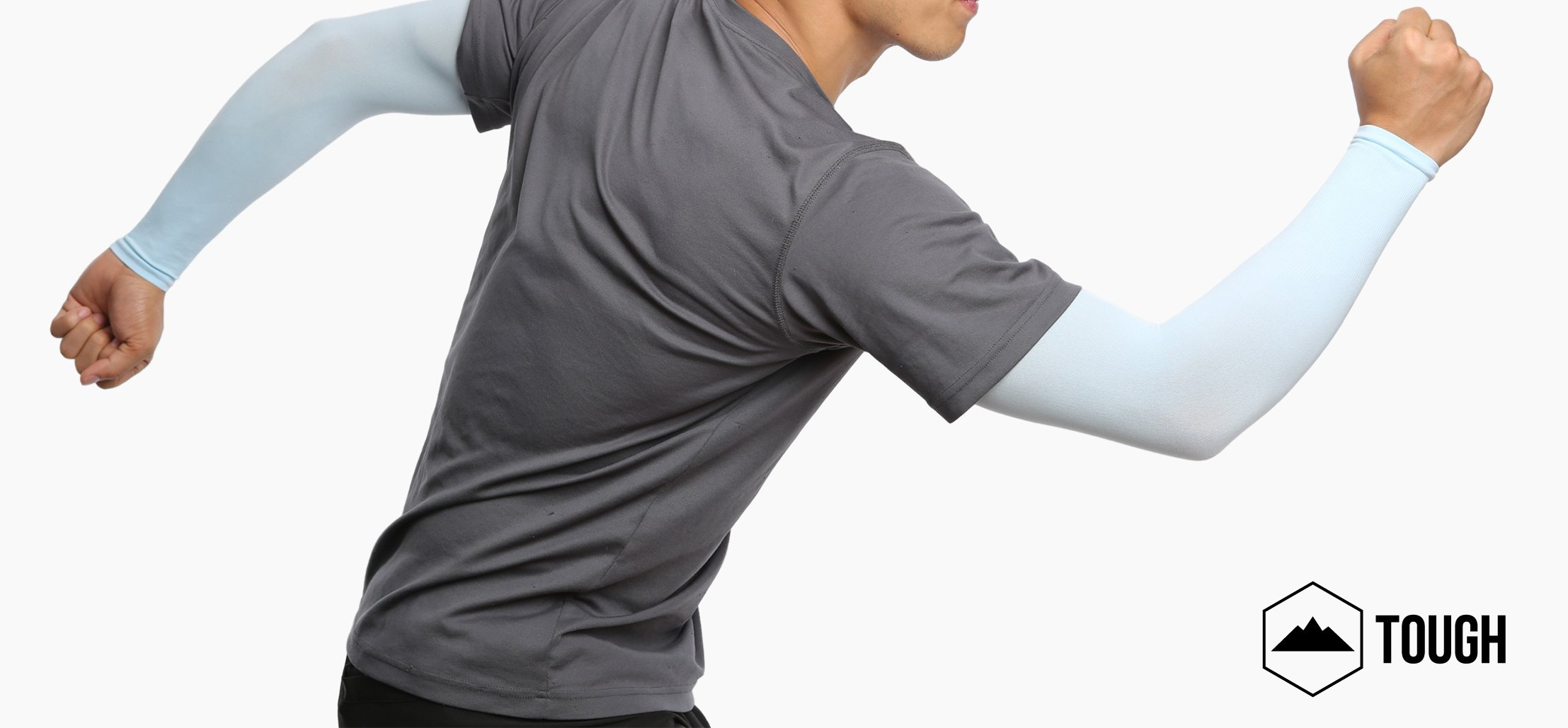 UV Protection Cooling Arm Sleeves – UPF 50 Long Sun Sleeves for Men   Women. 622bf6cf6