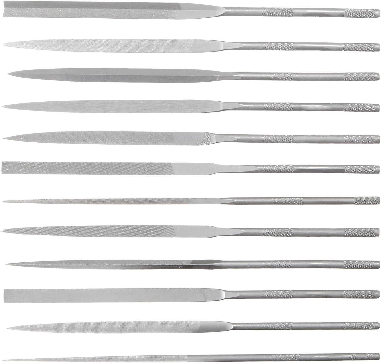 Nicholson Hand File 6 Length Swiss Pattern Double Cut Half-Round #4 Coarseness