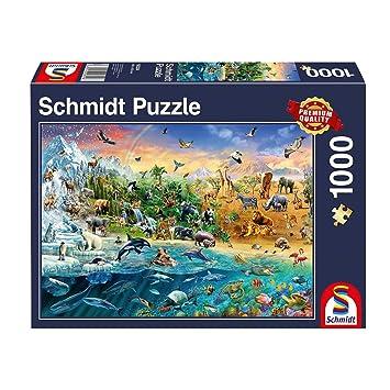 Puzzle 1000 Teile 99 lustige Tiere Puzzles