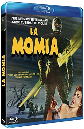 La Momia [Blu-ray]: Amazon.es: Peter Cushing, Christopher ...
