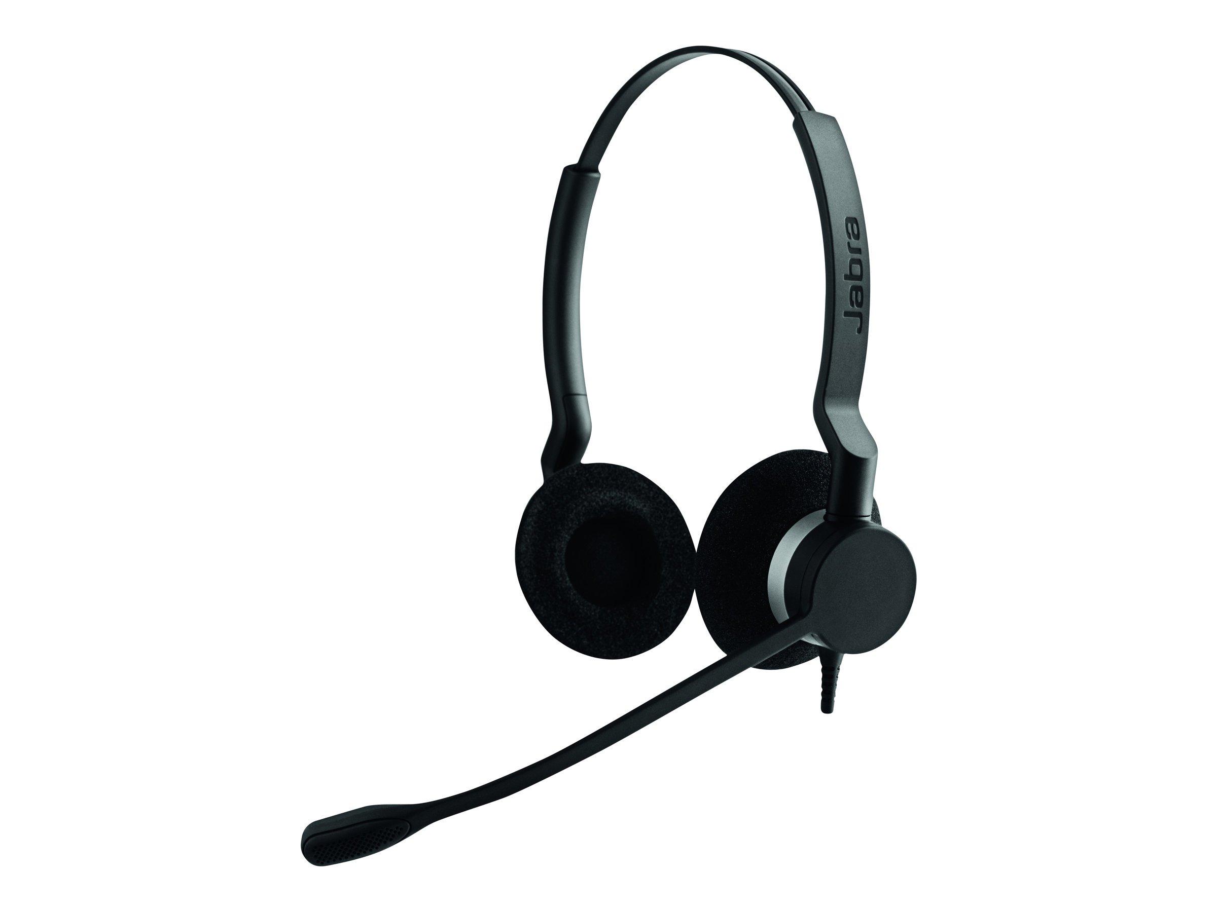 Jabra Wired Headset 2300 QD Duo - Black