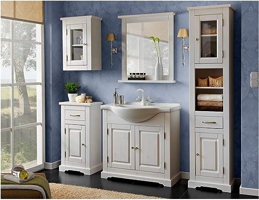 Romantisme ensemble de mobilier de salle de bain avec lavabo ...