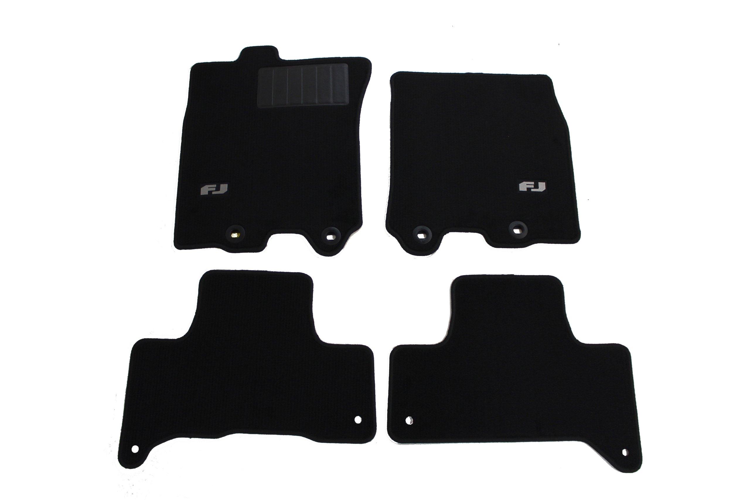TOYOTA Genuine Accessories PT206-35110-20 Carpet Floor Mat for Select FJ Cruiser Models, Charcoal