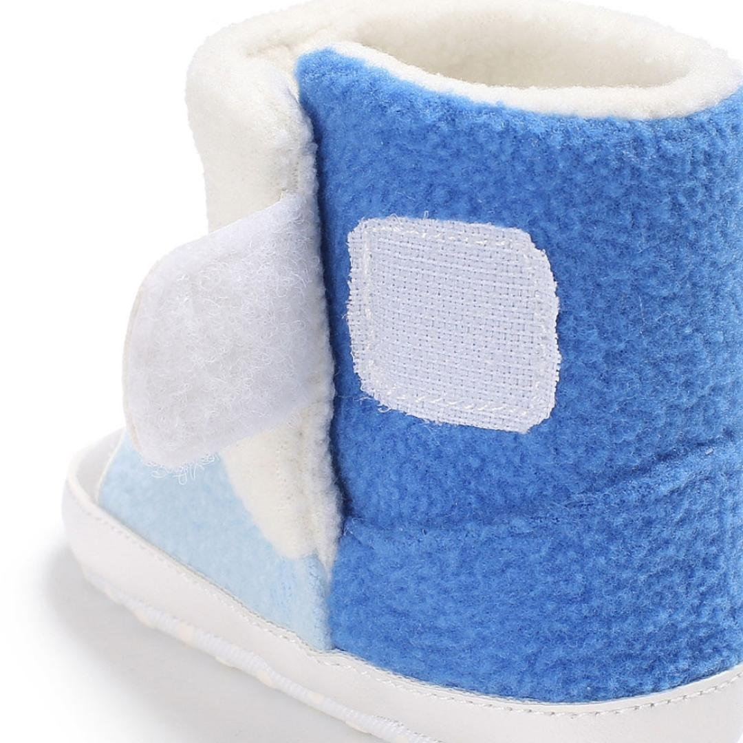 Winter Warm Infant Newborn Snow Boots Crib Shoes Prewalker Boy Girl Womail Baby Boots