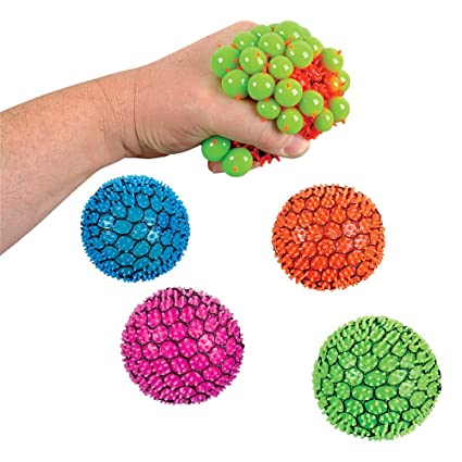 Mesh Squishy Ball Pack Of 12