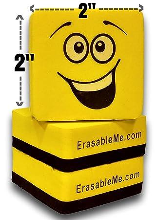 Amazon.com : Premium Dry Erase Eraser Set of (12) with EzErase ...