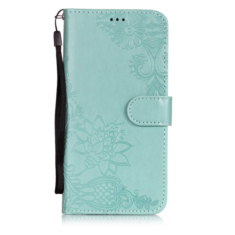 Cozy Hut HTC One M8 Schutzhülle, Premium PU Leder Flip Tasche Case mit Integrierten Kartensteckplätzen und Ständer Hülle Für HTC One M8 - Premium Golden Rose