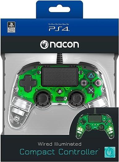 Oferta amazon: Nacon - Mando Compacto para PS4, color Cristal Verde