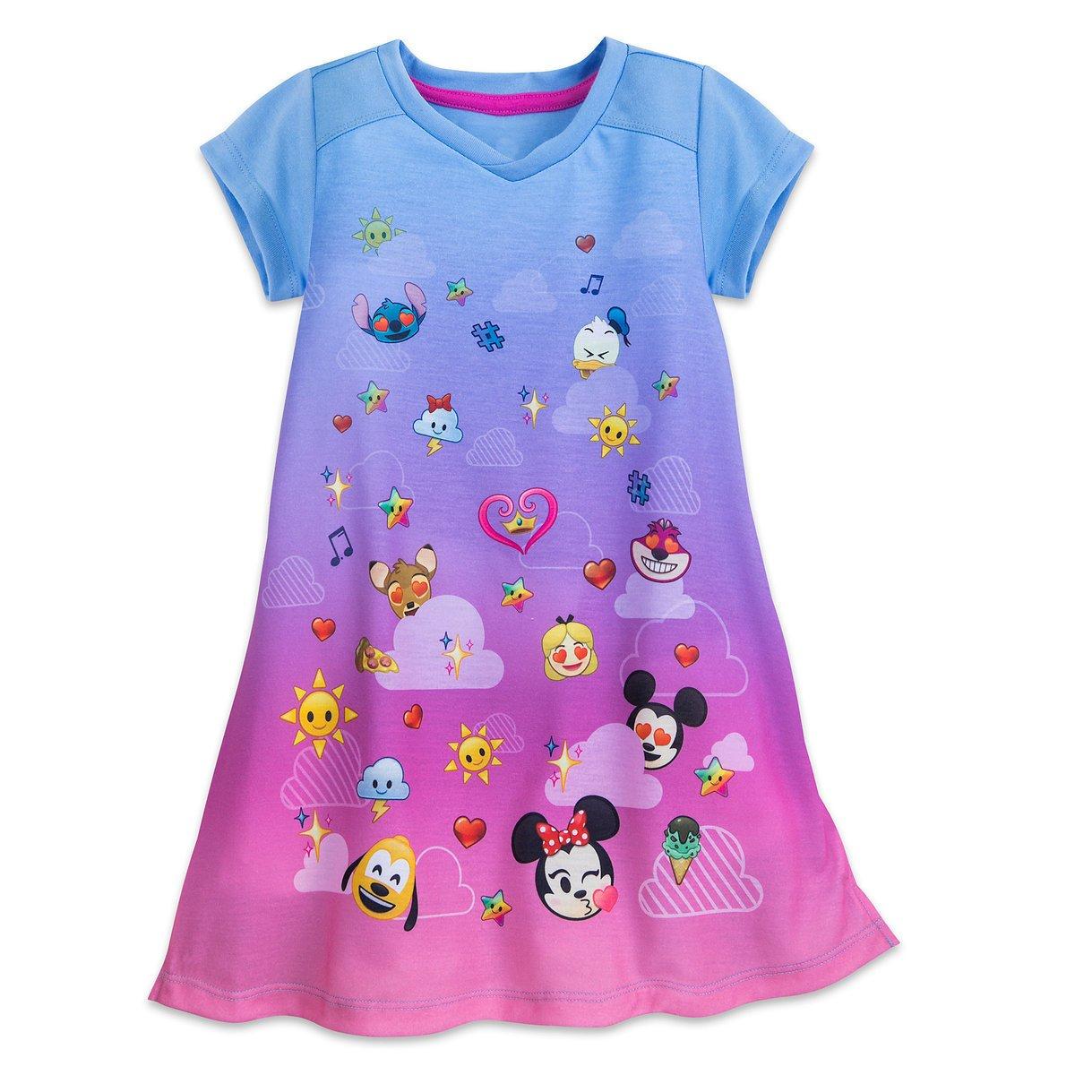 Disney Emoji Nightshirt For Girls 4902055252239900