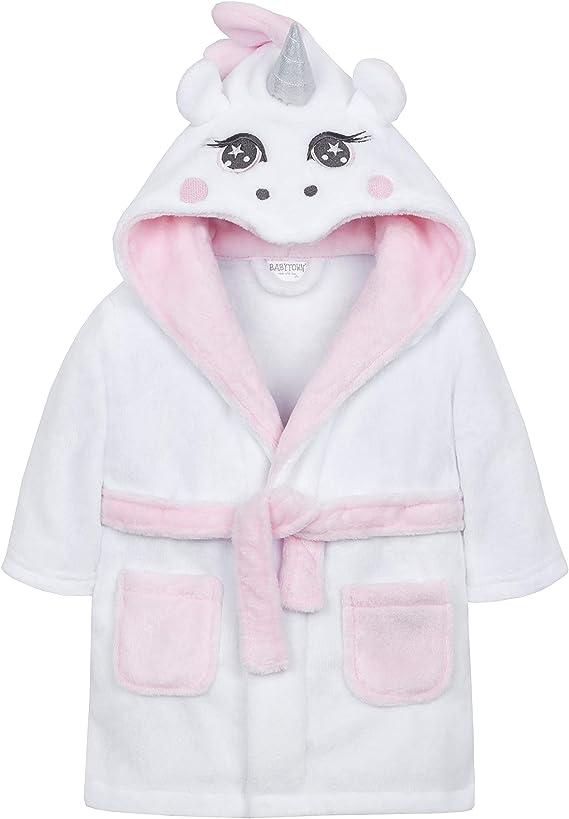 Babytown Robe De Chambre Bebe Licorne Blanche Amazon Fr Vetements Et Accessoires