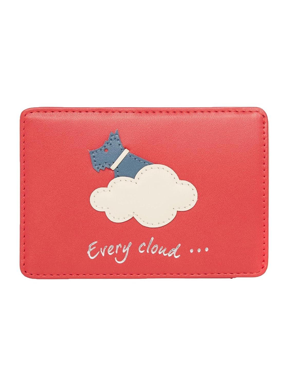 Radley Travel Card Holder in Pink Leather Silver Lining Design ...