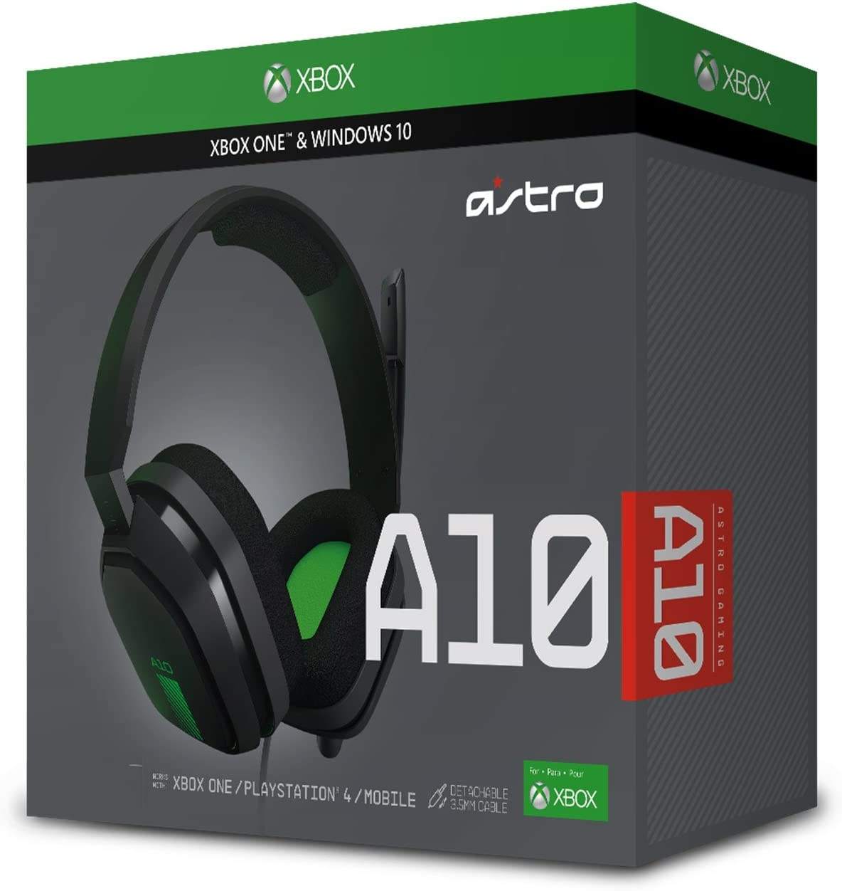 Amazon.com: ASTRO Gaming A10 Gaming Headset - Black/Red - PC: Video ...