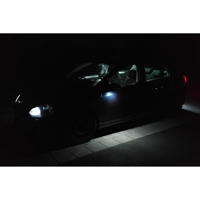 Muchkey/® 18Pcs Led Canbus 3W 12V No-Error Free LED Bulbs For License Plate Lights Bulb Reading Dome Lamp Door Light Xenon White