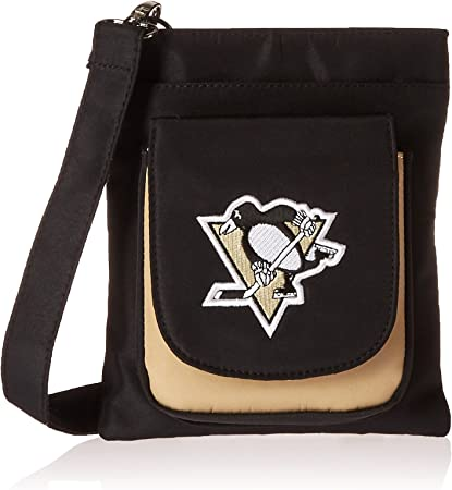 Pittsburgh Penguins Backpack Embroidered Logos