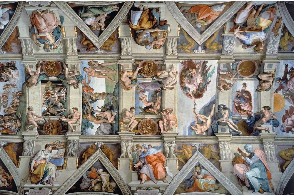 Cappella Sistina Rompecabezas súper difícil for Adultos 5000 Piezas Juguetes educativos Juego de Regalo 0313: Amazon.es: Hogar