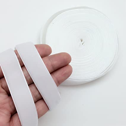 PEPPERLONELY 5 Yards Single Face Velvet Ribbon 16mm 5//8 Inch Green