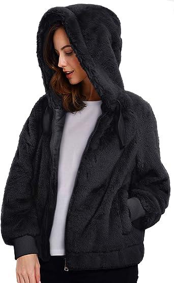 Giubbottino Infant Child Hot Fur Hood with ears