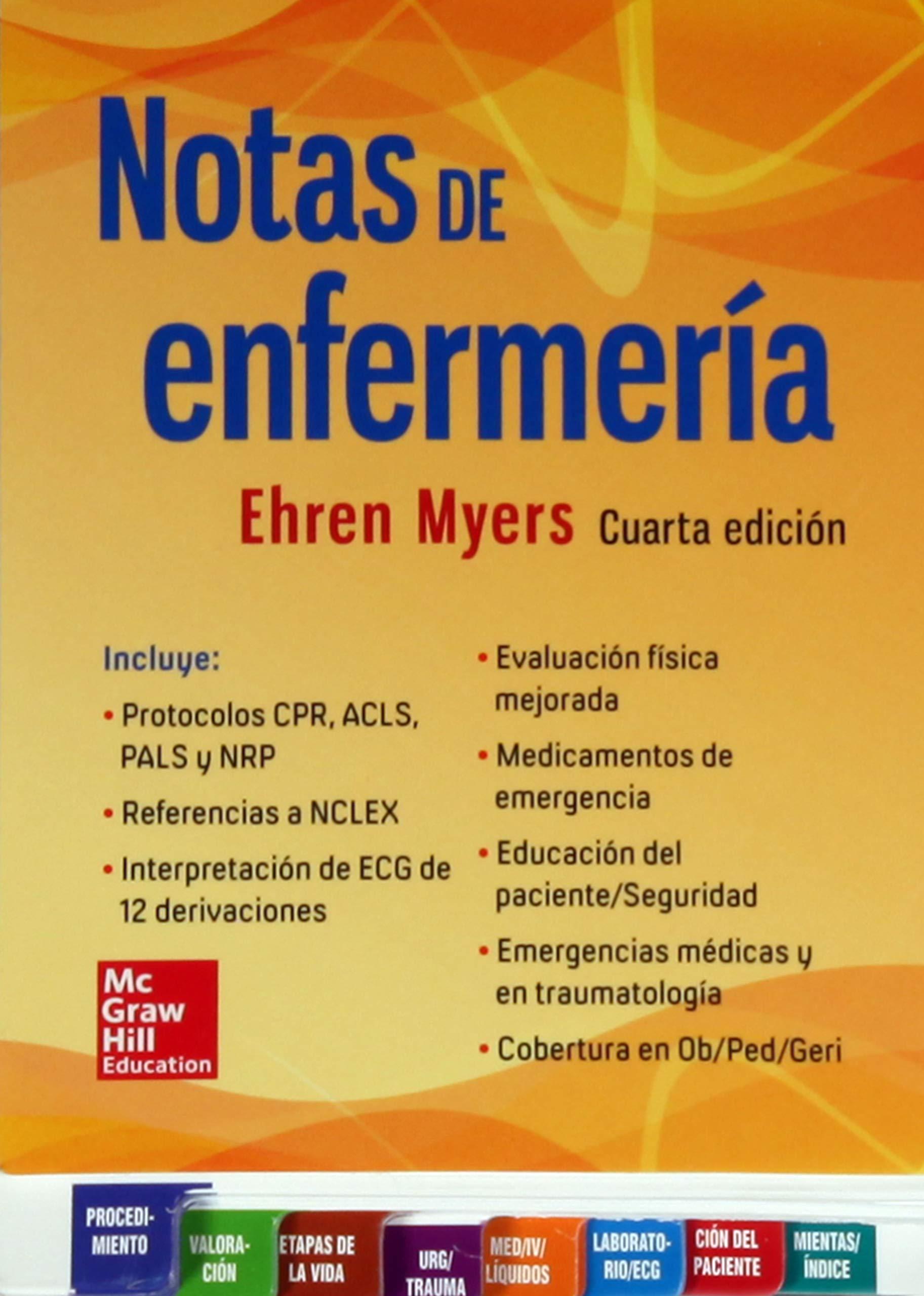 NOTAS DE ENFERMERIA: Amazon.es: Ehren Myers: Libros
