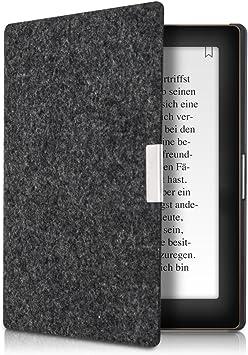 kwmobile Funda Compatible con e-Reader Kobo Aura Edition 1 -Case Plegable de Fieltro en Farbe: Amazon.es: Electrónica