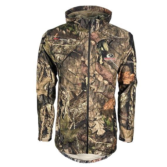 0a14d54ec50be Mens Camouflage Mossy Oak Break-Up Waterproof Jacket: Amazon.co.uk ...