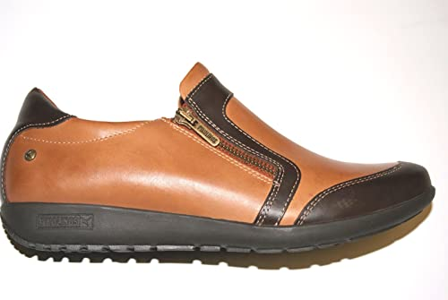 Pikolinos - Mocasines de Piel para mujer, color marrón, talla 37: Amazon.es: Zapatos y complementos