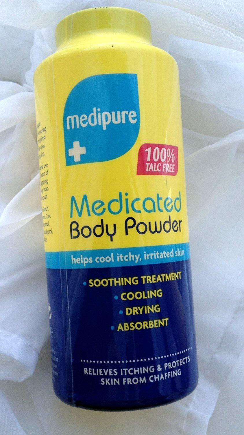 Medipure Unisex Medicated Body Powder For Itchy, Irritated Skin-200g new TP201A