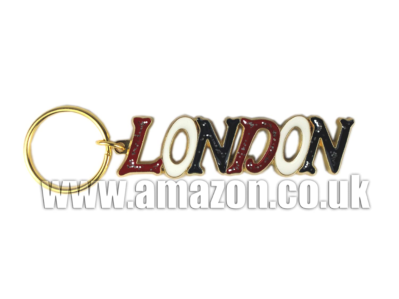 London Souvenir Llavero - London Classic con letras ...