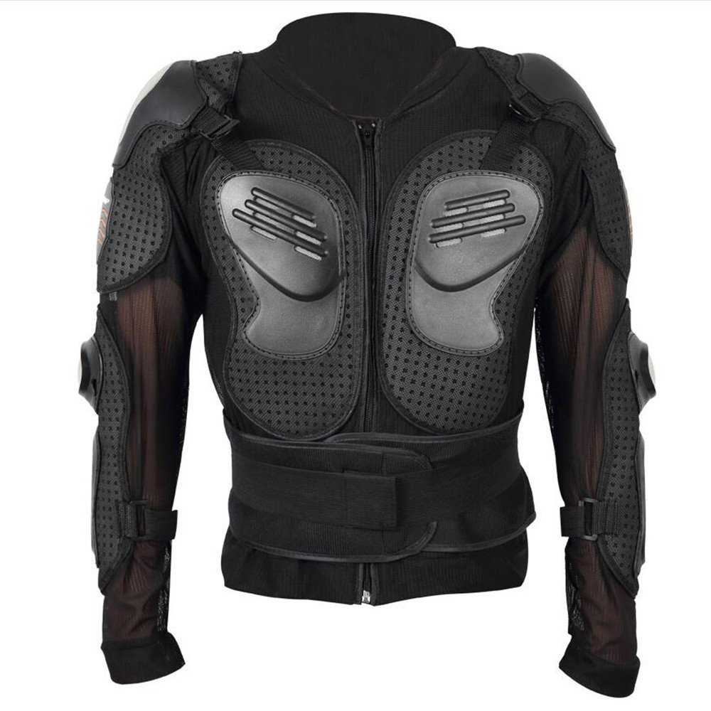 Quisilife Cycling Body Protector Motorcycle Body Protection Jacket Racing Protection Equipment for Motorcycles,Cycling,Skiing and Skating (Size : XXL)