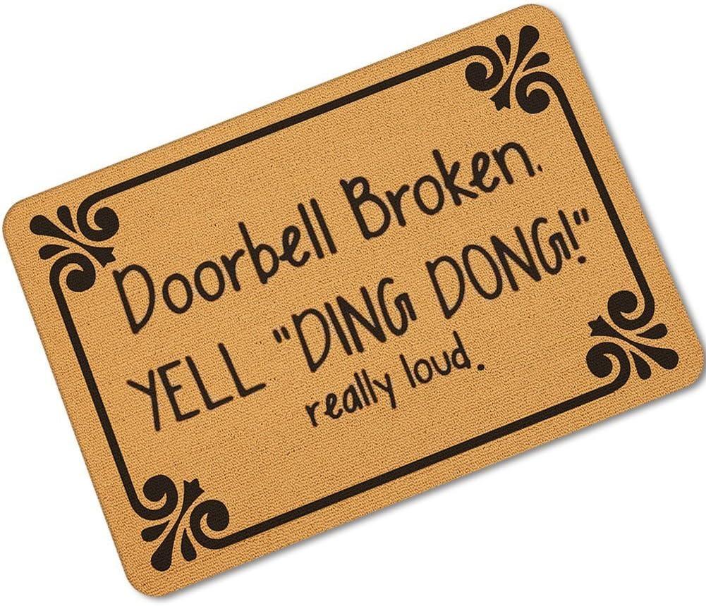 Kitchen Absorbent Mat Anti-slip Door Mat Funny Doormat Bedroom Entrance Door Pad