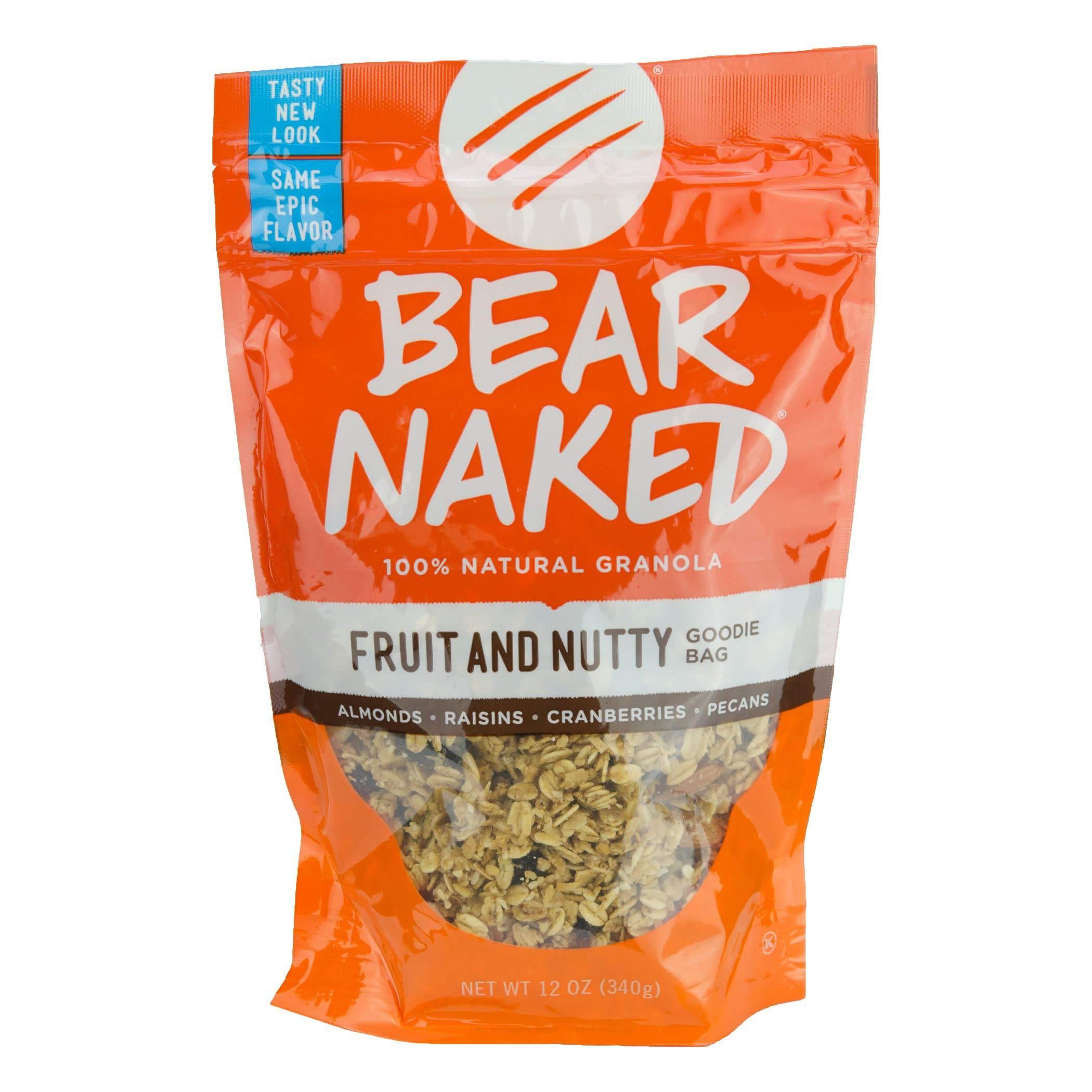 Amazon bear naked granola pouches go bananas go nuts 12 bear naked granola pouches fruit and nutty 12 ounce pack of 6 solutioingenieria Choice Image