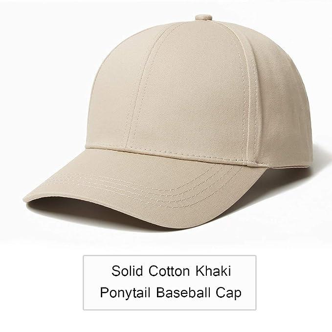 ee40e95e6 2019 Glitter Ponytail Baseball Cap Women Snapback Hat Summer Messy ...