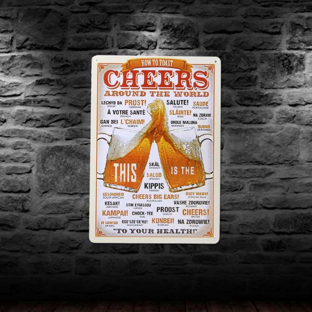 20x30cm Vintage Metal Tin Sign Plaque Wall Art Poster Cafe Bar Pub Beer #3 Generic BHBA790