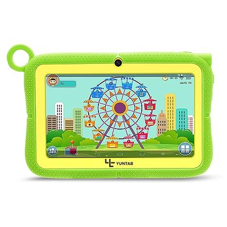 YUNTAB Q91 Tablet infantil de 7 pulgadas (Android 5.1, Quad ...
