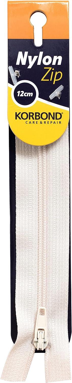 Color Blanco /Nailon con Cremallera KORBOND/ 12/cm