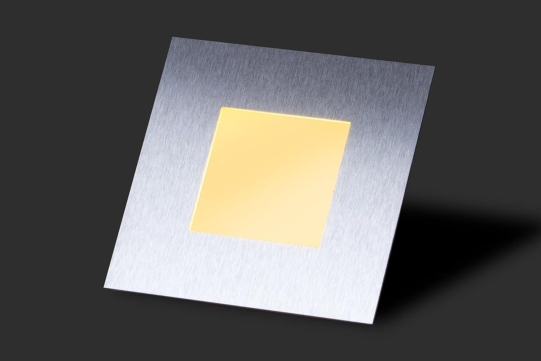 6 Er SET Simple LED Wand U0026 Treppenbeleuchtung Treppenlicht 2W 230V  MOD 21/WS/W/ED/230V: Amazon.de: Beleuchtung