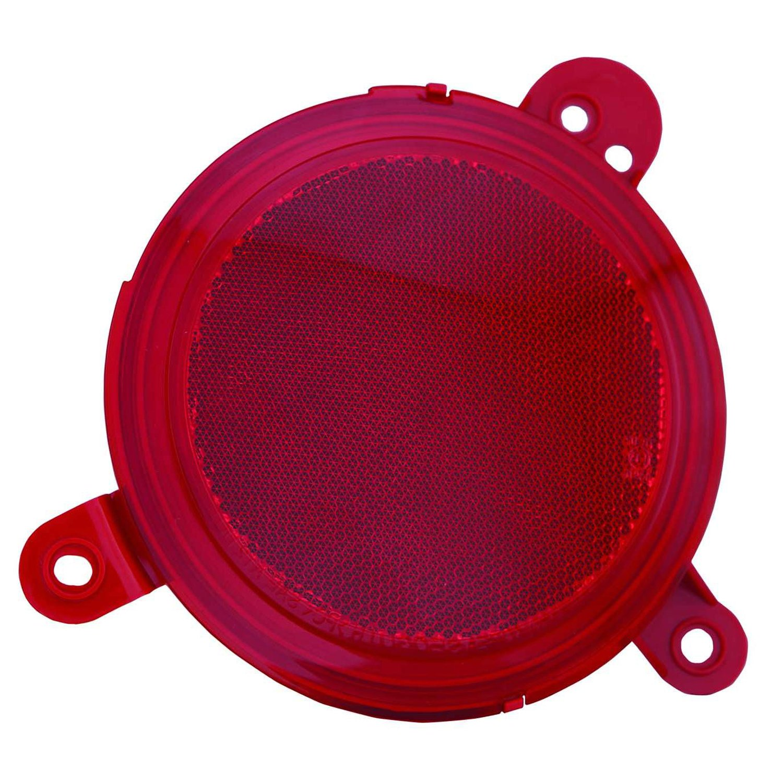 OE Replacement 2014-2015 KIA SOUL Bumper Reflector Partslink Number KI1185106 Multiple Manufacturers KI1185106C