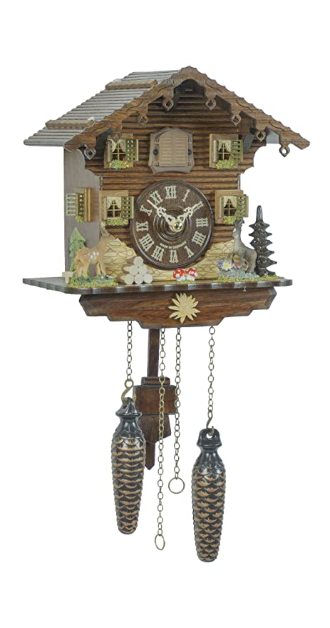 Trenkle Uhren Quartz Cuckoo Clock Swiss House TU 432 Q