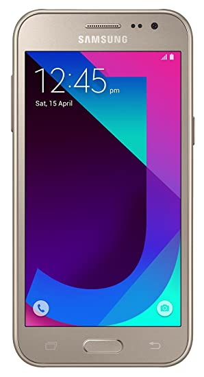 Samsung Galaxy J2 2017 Metallic Gold 1GB RAM 8GB Storage With Offers