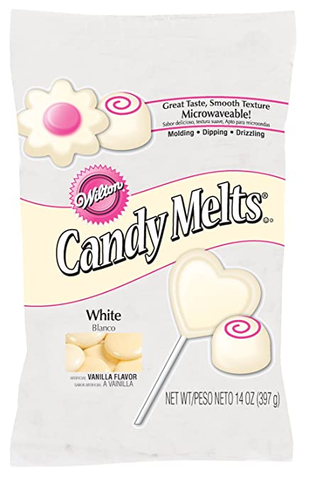 Amazon Com Wilton White Candy Melts Candy Making Molds Kitchen