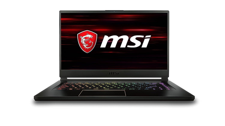 f405c706 MSI GS65 Stealth Thin 8RE-011UK 15.6-Inch Gaming Laptop - (Black) (Intel i7  8750H, 16 GB RAM, 256 GB SSD, NVIDIA GeForce GTX 1060 Graphics, ...