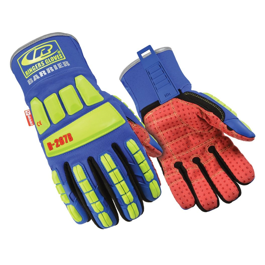 Ringers Gloves R267B-11 R267B Tefloc Gloves with Waterproof Barrier, X-Large