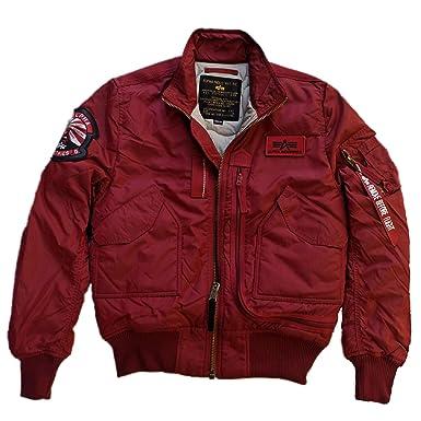 Alpha Industries Men s Banded Collar Jacket - - XXXL  Amazon.co.uk ... 86ba3b3320