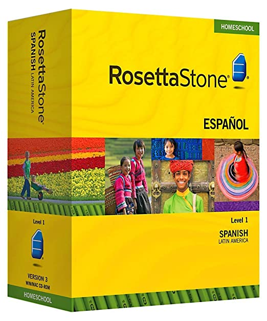 Rosetta Stone Homeschool Spanish (Latin America) Level 1 including Audio  Companion