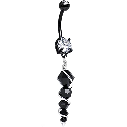 16f70c9f521b0 Body Candy Stainless Steel Icicle Dangle Belly Button Ring