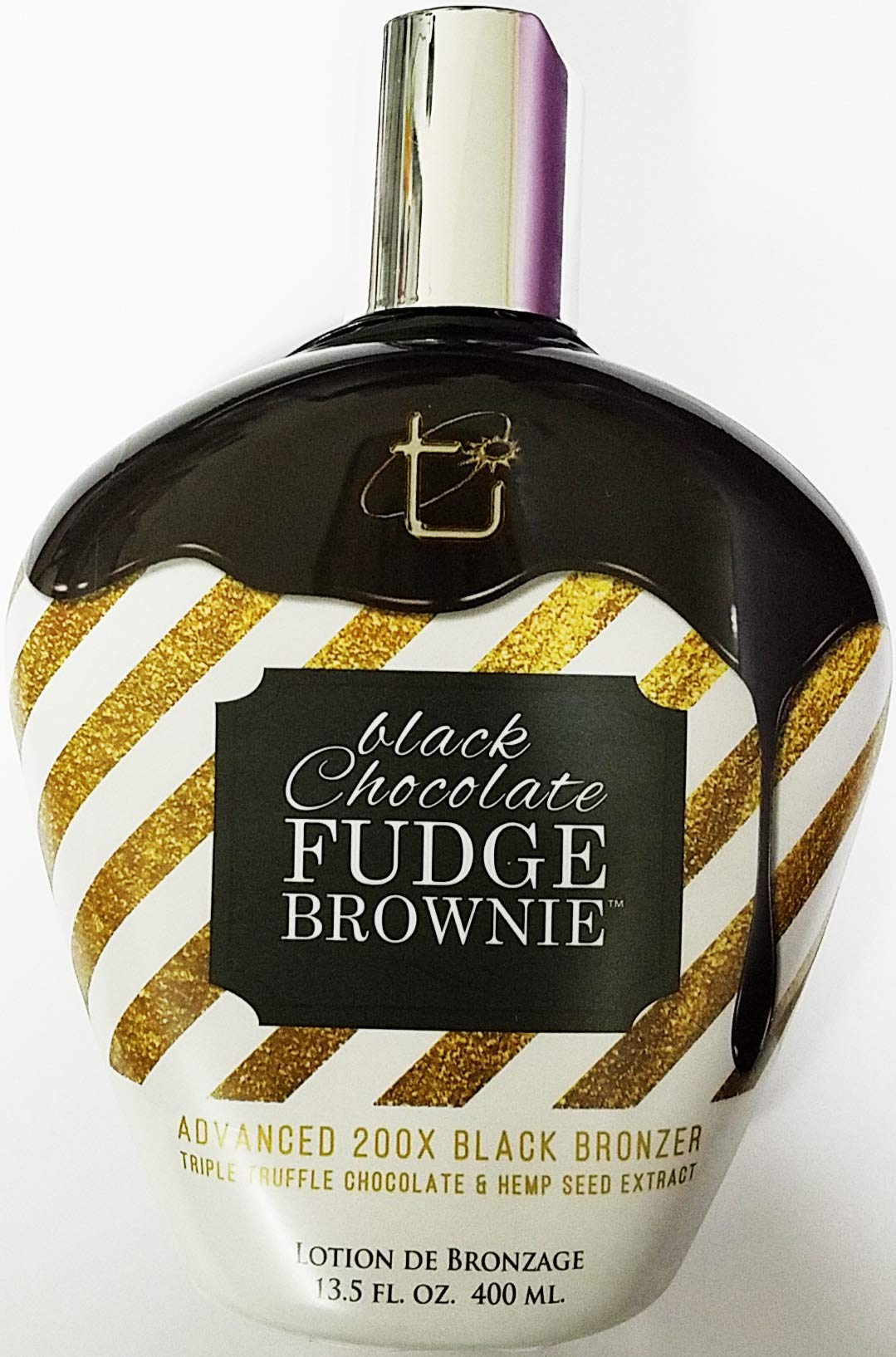 Brown Sugar BLACK CHOCOLATE FUDGE BROWNIE 200X Black Bronzer - 13.5 oz