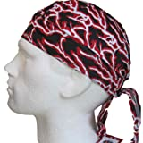 Fitted BANDANA Red Lightning