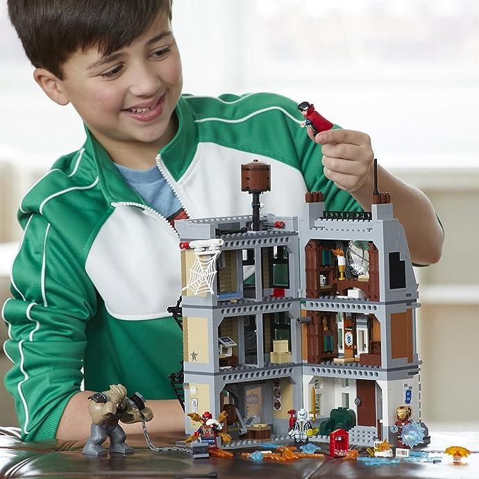 LEGO 乐高 76108 复仇者联盟3 奇异博士至尊会所大战 积木玩具 6折$59.97史低 海淘转运到手约¥534